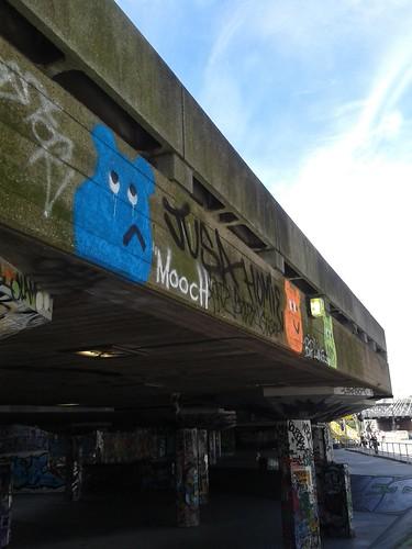 South Bank Skateboard Park Graffiti