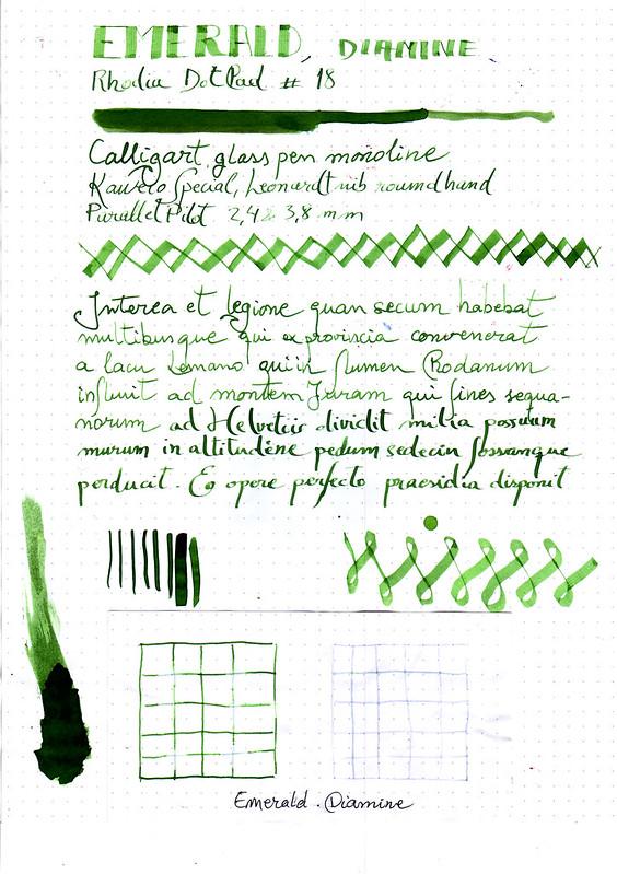 Diamine Emerald-1
