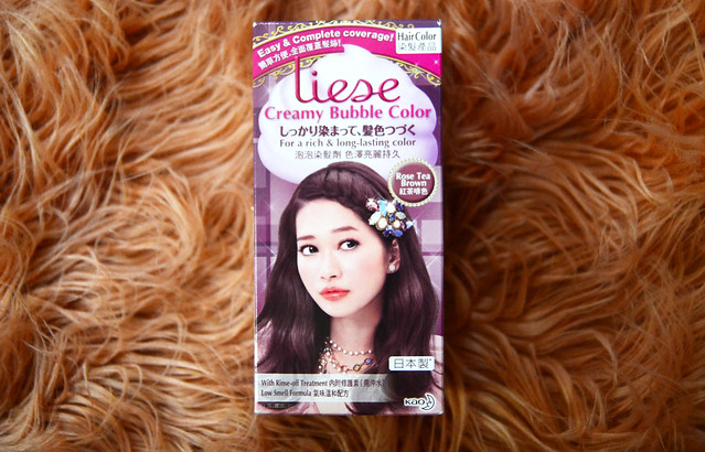 Patty Villegas - The Lifestyle Wanderer - DIY Bubble Hair Color - Japan Beauty Product - Beauty Review - Liese Bubble Hair Color - Liese Bubble Hair Color Box