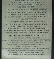Three Collinson boys who died out in the Empire