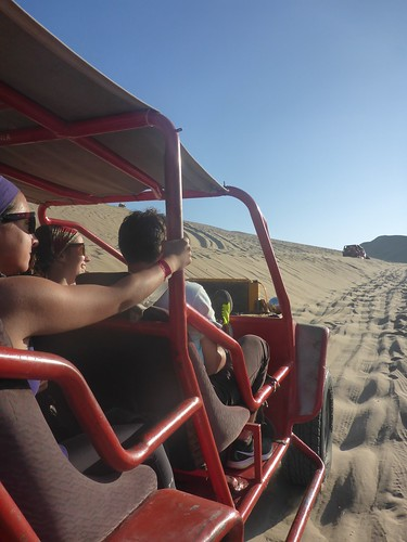 Driving on the dune