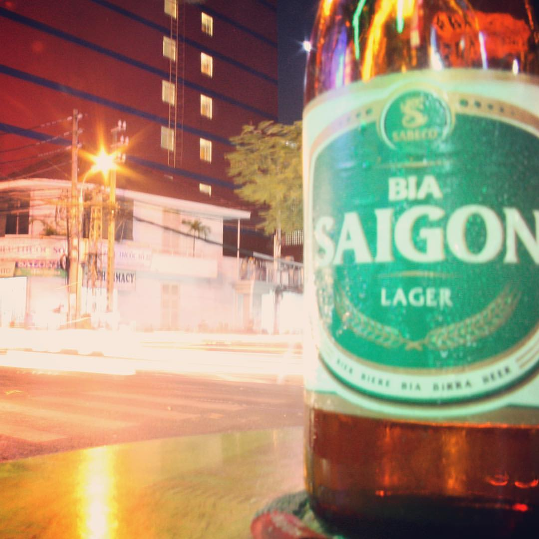 Ok guys, time to get back to the #RTW2012 pictures, after last week's side step to Romania. Here's #25, beer Saigon in Saigon. Cheers, and have a great Thursday! #rtw #rtw365 #aroundtheworld #aroundtheworldtrip #travelmemories #vietnam #saigon #hochiminh