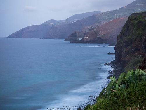Costa de San Andrés al atardecer