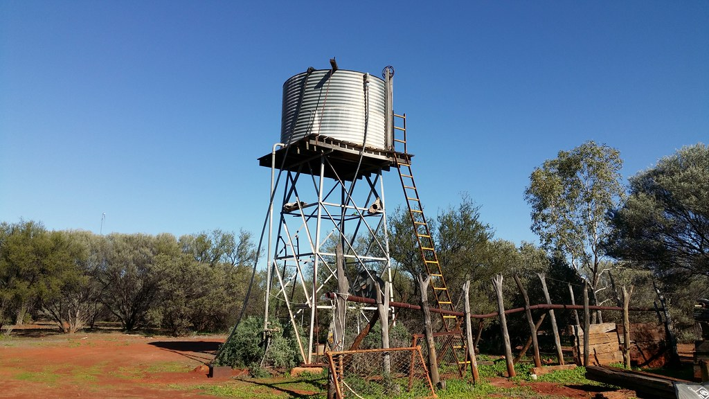 tank stand at Dairy Wells