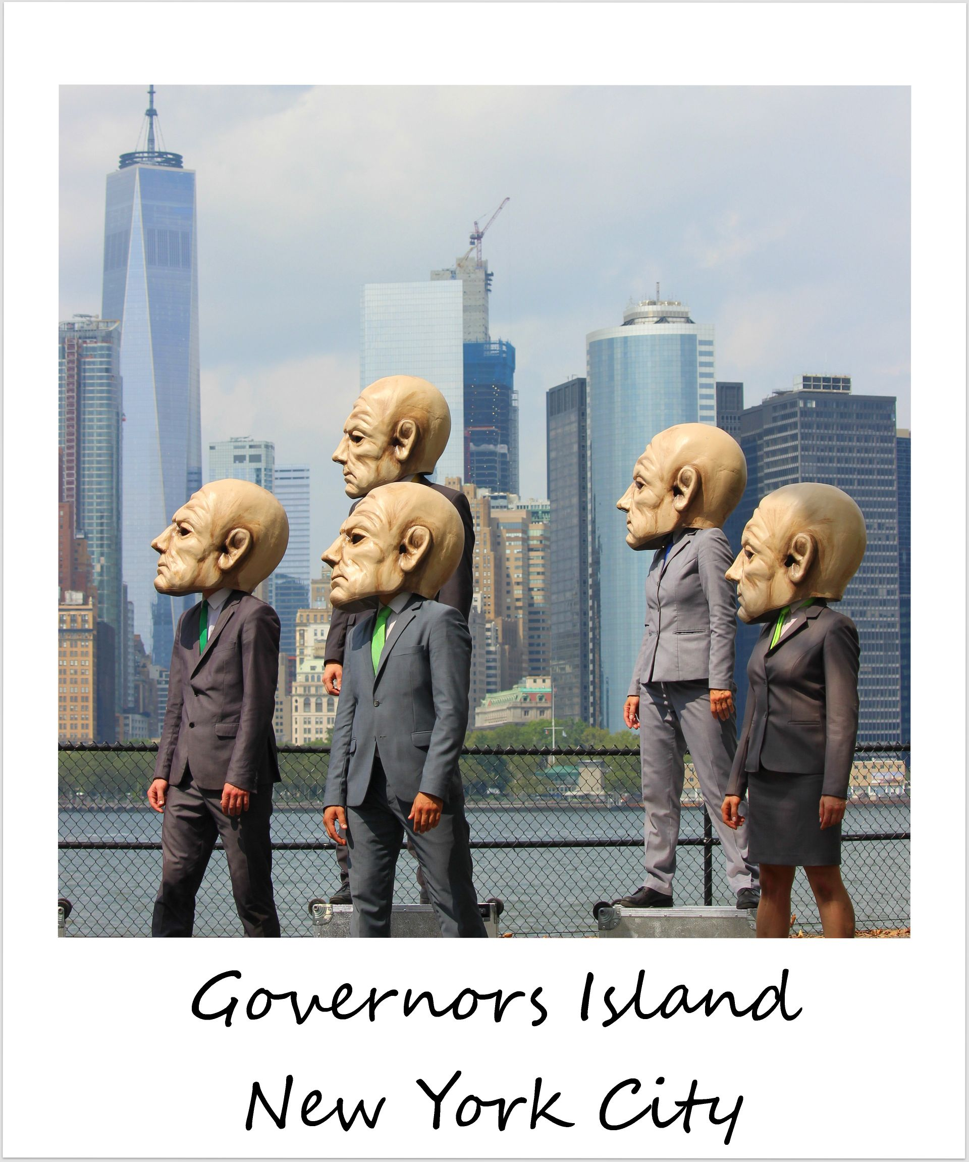 polaroid of the week new york city governors island