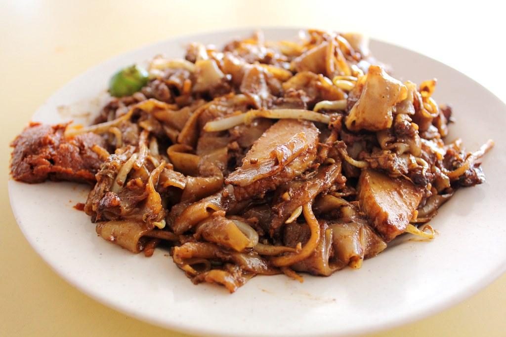 新加坡东部早餐:大张梅士茶桂teow