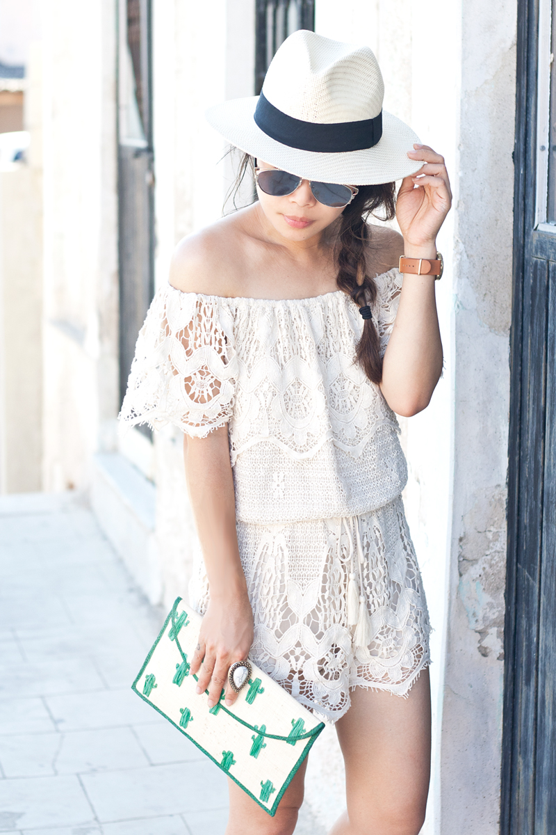 06crochet-offshoulder-romper-fedora-cactus-travel-style-fashion