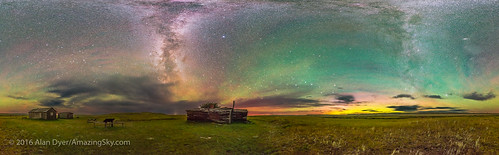 The Natural Sky of Grasslands National Park