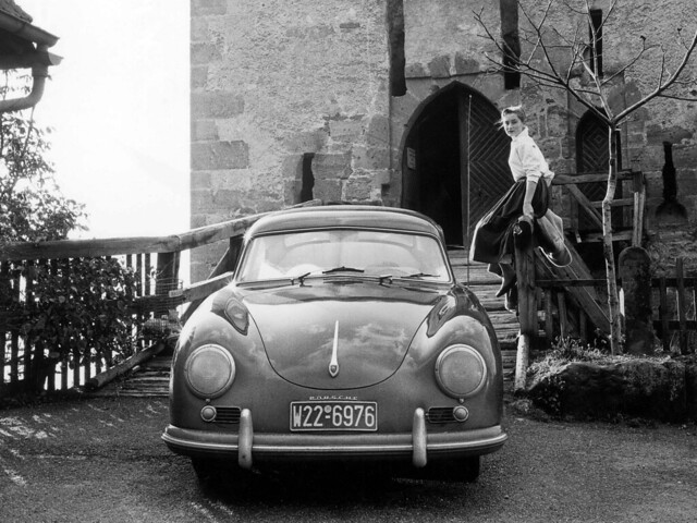 Porsche 356 Coupe by Reutter. 1954 - 1955 годы