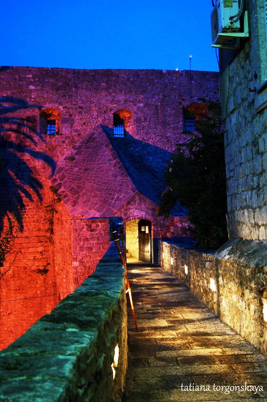 Вход в крепость Форте Маре
