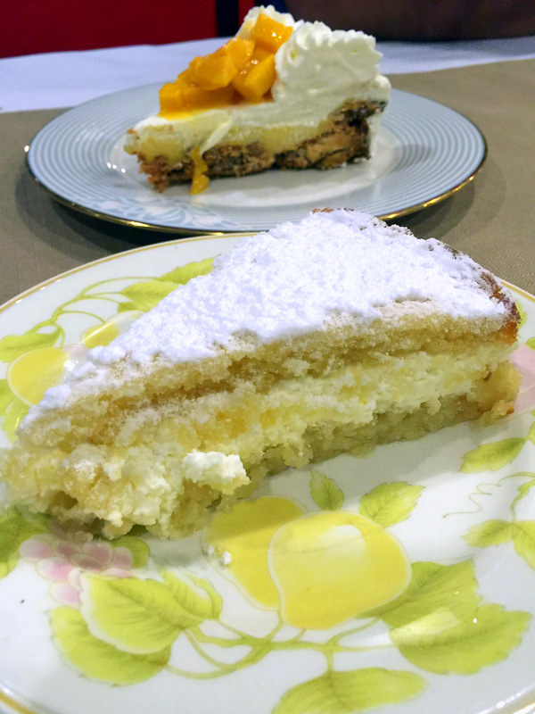 Mateo's Restaurant Cafe- Naked Lemon Olive Cake P155