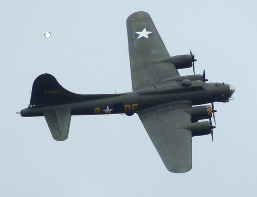 B-17 over County Antrim