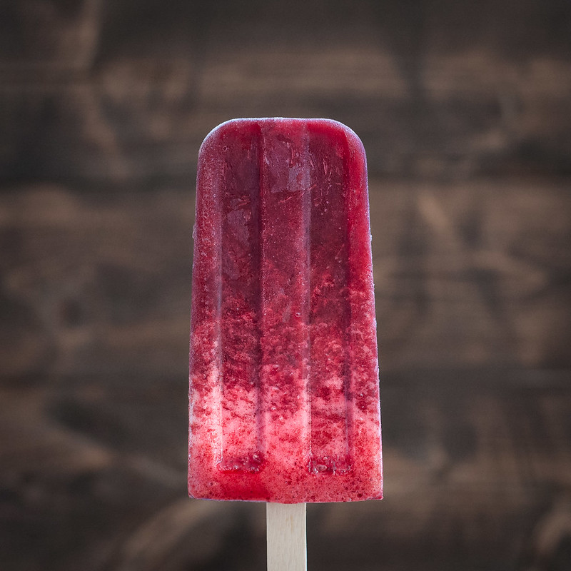 Herbal cherry frozen pops--for happy taste buds AND a happy tummy!