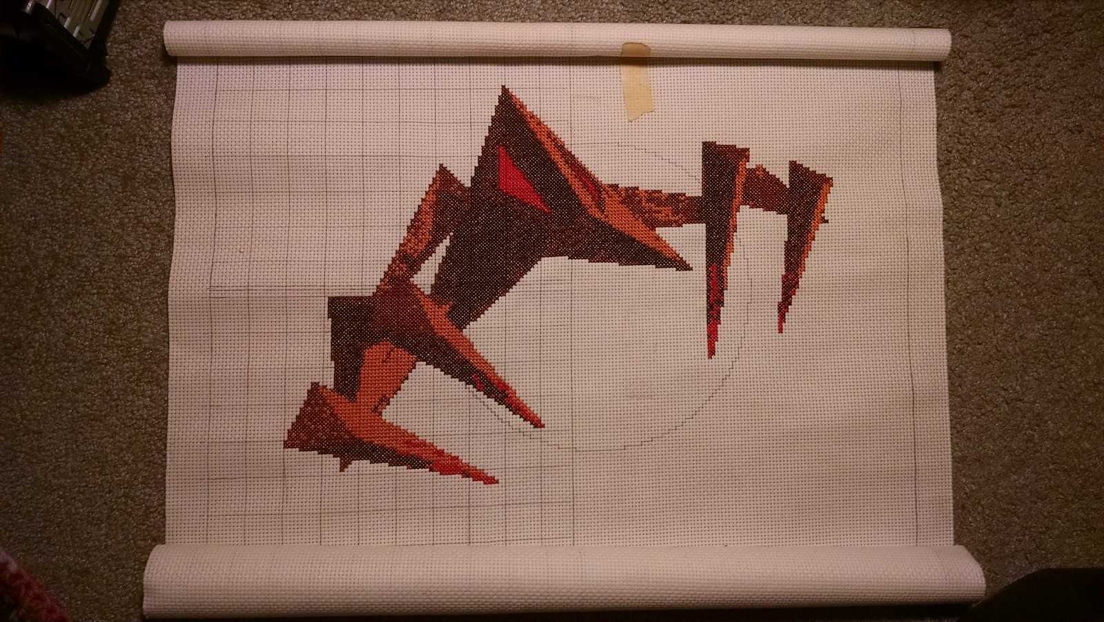 Descent 2 Embroidery