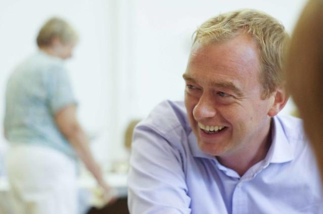 Tim Farron Visit to Wells Constituency