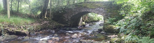 Buckland Bridge and the Webburn River