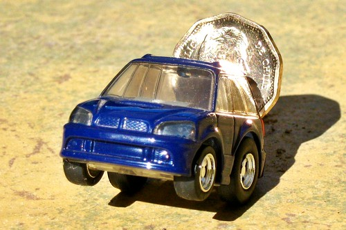 ChoroQ Subaru Legacy Touring Wagon