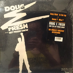 DOUG E. FRESH AND THE GET FRESH CREW:KEEP RISIN' TO THE TOP(JACKET A)