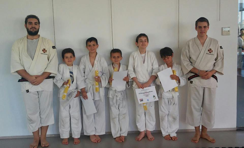 Primeros exámenes JMD Kids