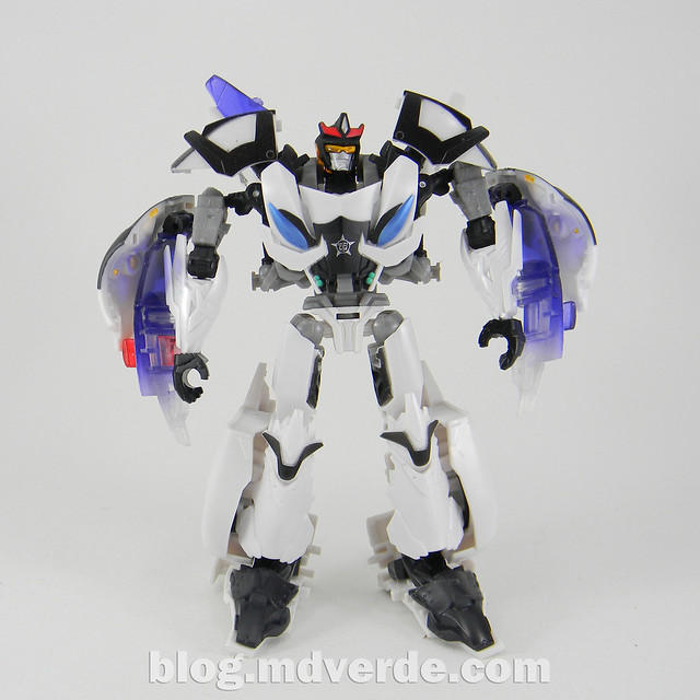 Transformers Prowl Deluxe - Transformers Prime Beast Hunters - modo robot