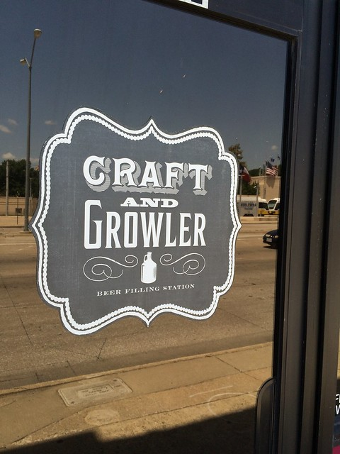 Craft and Growler Filling Station ~ Dallas, TX