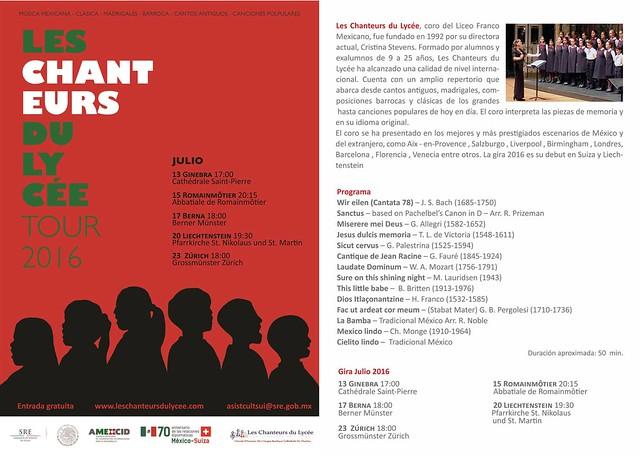 Coro del Liceo Franco Mexicano