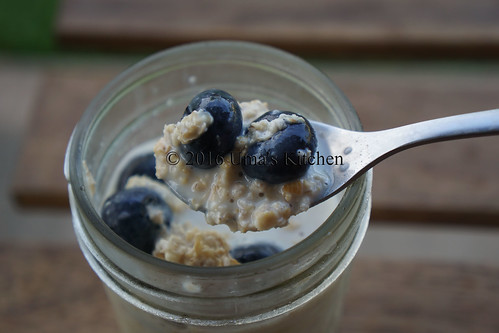 Overnight blueberry oats 7