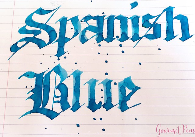 Ink Shot Review Franklin-Christoph Spanish Blue @1901FC 7