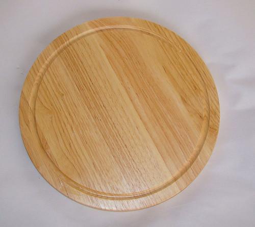 Thớt gỗ ghép hình tròn
