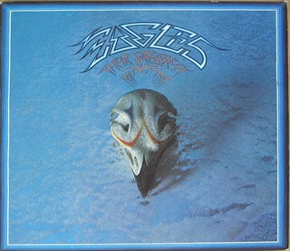 "EAGLES THEIR GREATEST HITS 1971-1975 (USA) 12"" LP VINYL"