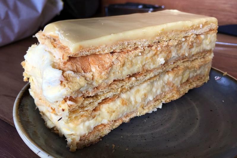 Vanilla slice, Drummoyne Bakehouse Cafe
