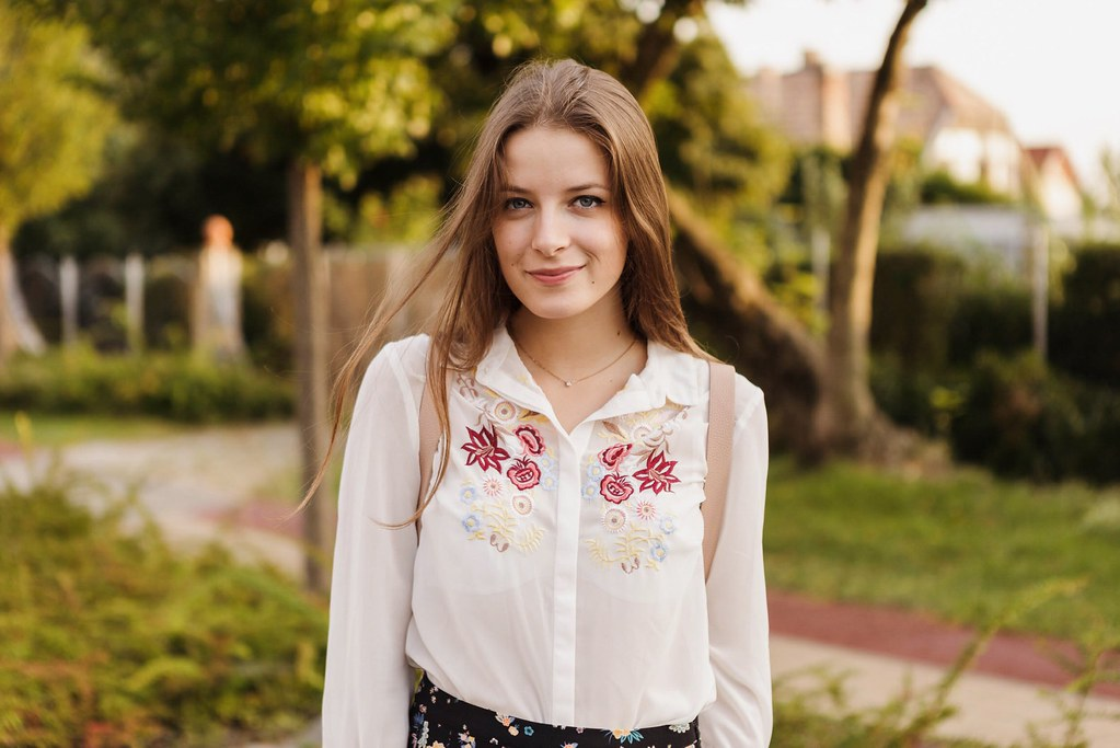 Embroidered Shirt⎢Back To School