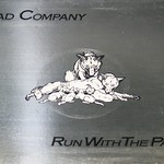 "Bad Company Run with the Pack White Island 12"" vinyl LP"