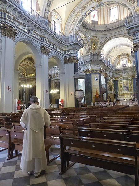 dans la Cathédrale de Nice