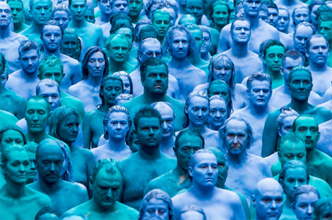 Sea of Hull: Why I Got Naked & Blue with Three Thousand People