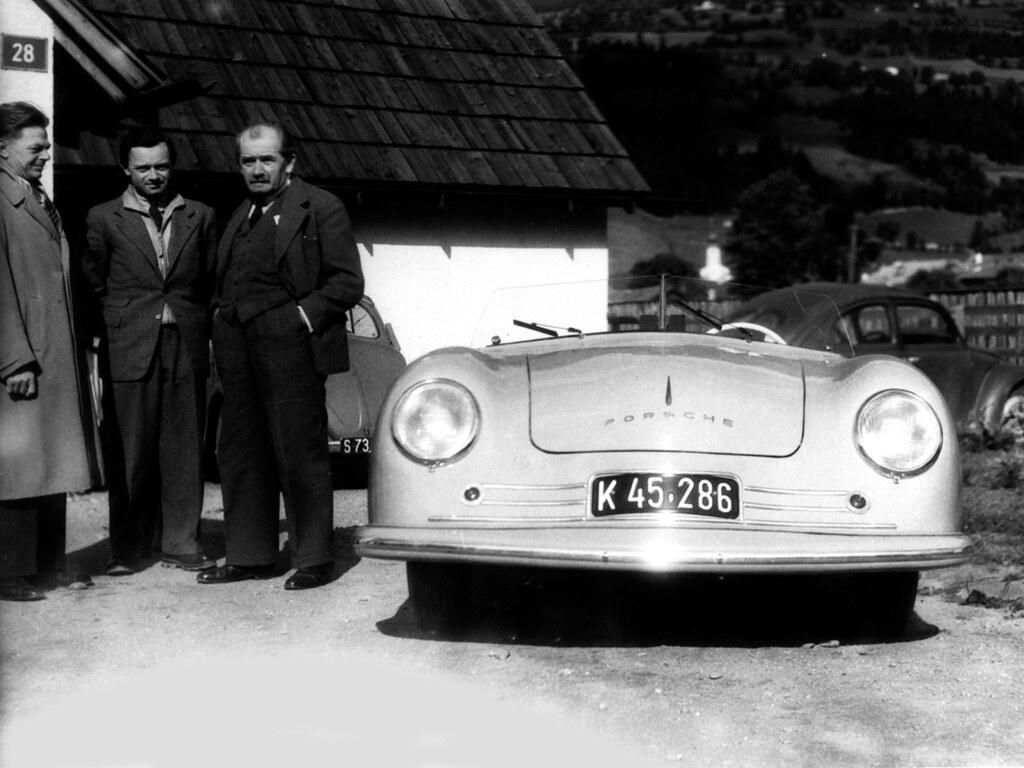 Porsche 356 Roadster №1. 1948 год