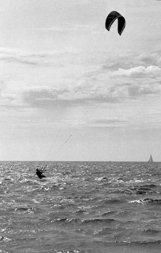 Kitesufen bij Harlingen