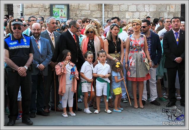 Briviesca Fiestas 2016 Procesión del Rosario y canto popular de la Salve  (12)