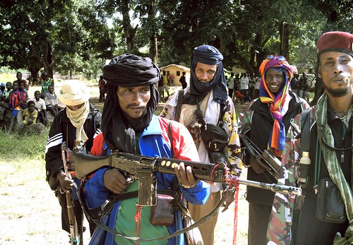 Armed groups in CAR, 2006