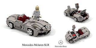 Mercedes-Mclaren SLR Stirling Moss Edition