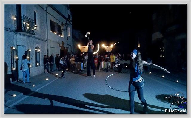 10.000 velas iluminan Fuentidueña en la noche de agua y fuego 22