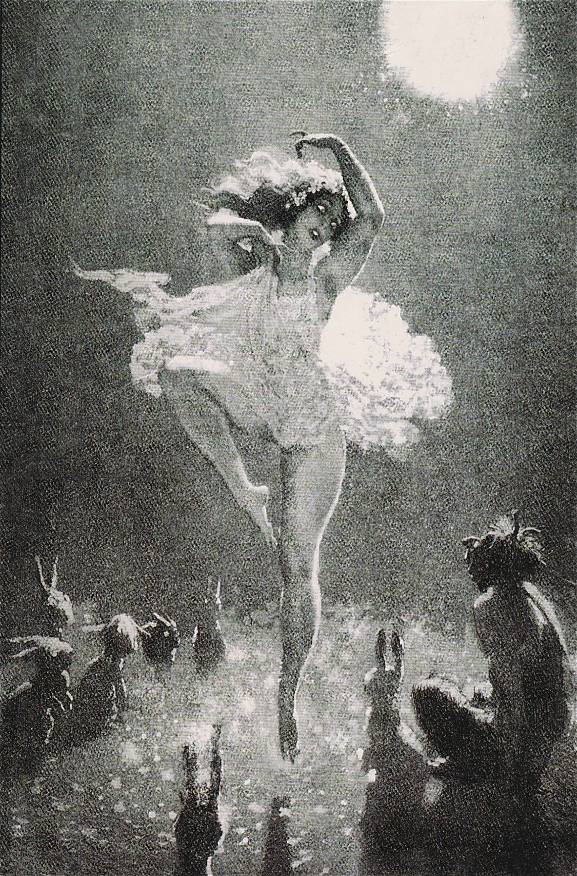 Norman Lindsay - The Audience, 1925