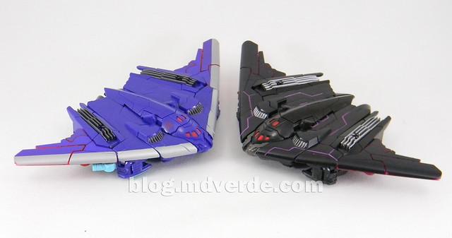 Transformers Dreadwin/g Deluxe - Generations - modo alterno vs Megatron