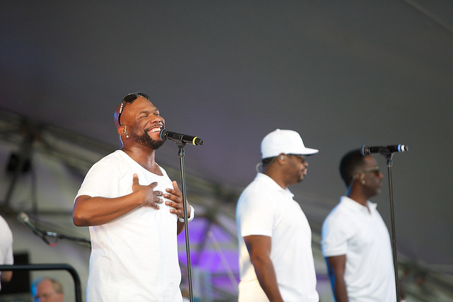 Boyz II Men at GR Symphony Picnic Pops