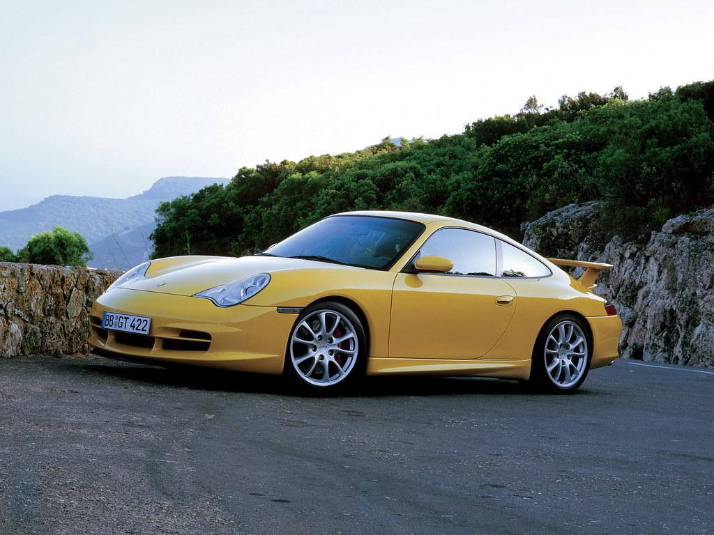 Porsche 911 GT3 (кузов 996). 2003 – 2005 годы