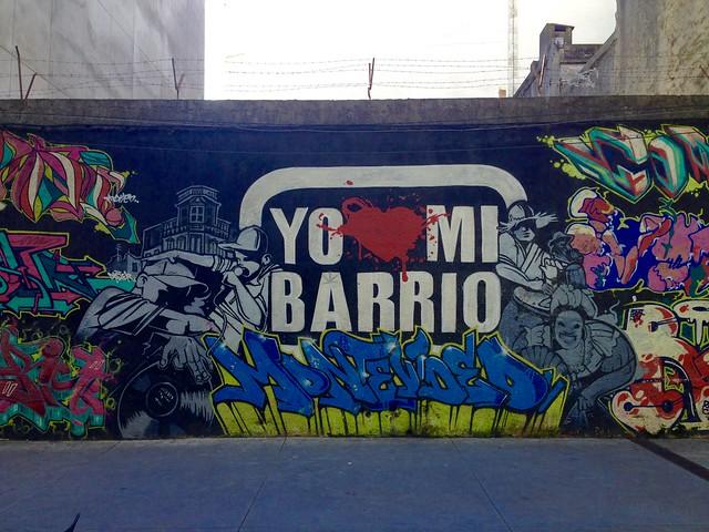 Yo <3 Mi Barrio, Montevideo #graffiti