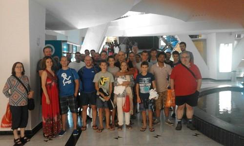 20160808 Visita a Caldea