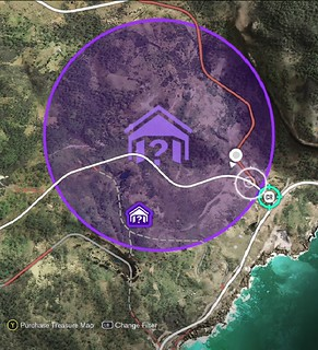 You Must Then Search The Area With Your Car Or Drone To Find Barns Exact Location Revealing It As A Bright Purple House Icon