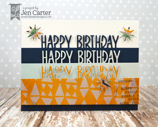 Jen Carter Happy Bday Border Seasonal Stars Masculine 1 wm