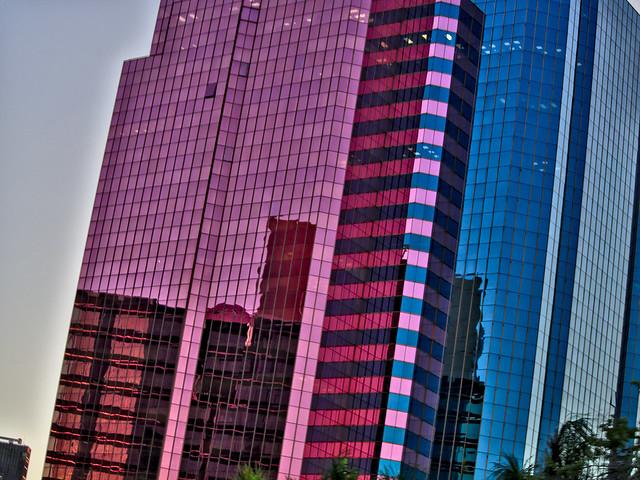 Pink Glass